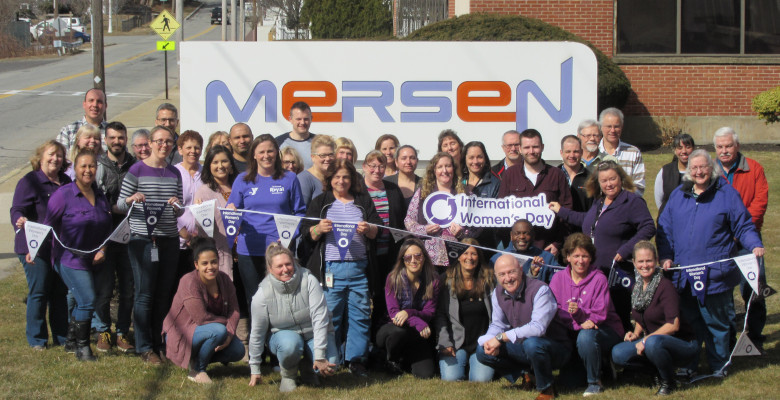 Our site in Newburyport, MA, USA, celebrated the IWD2020