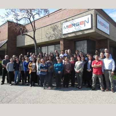 Mersen team at Mississauga, ON, Canada.