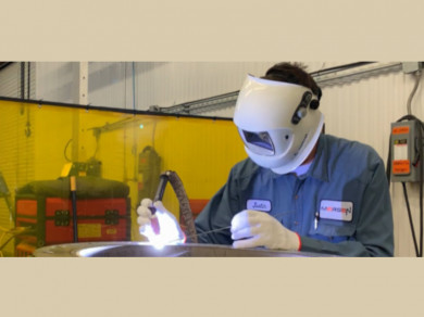 clean room welding mersen