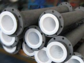 PTFE PFA lined pipes Mersen